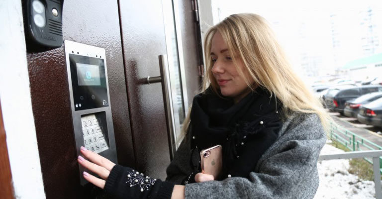установка домофона в Алматы